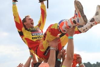 Karro pirmo reizi karjerā kļūst par Anglijas motokrosa čempionu
