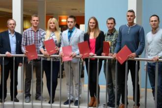 LSFP piešķir stipendijas 35 Latvijas sportistiem-studentiem