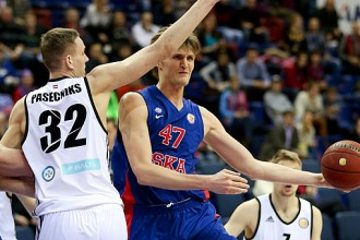 VEF ielaiž 107 punktus pret CSKA un zaudē Maskavā