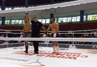Foto: Latvijas MMA izlases dalība pasaules čempionātā