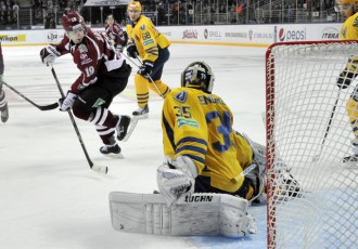 Foto: ''Dinamo ar 3:1 uzvar ''Atlant''