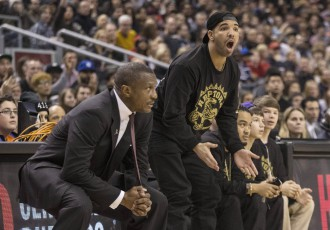 """Video: Reperis Dreiks aicina Durantu pievienoties """"Raptors"""", NBA soda klubu"""