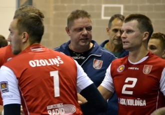 """""""ASK/Kuldīga"""" treneris Sokolovskis: """"Igauņi mums aizsteigušies solīti priekšā"""""""