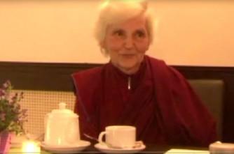 """Video: Budistu mūķene Margarita Putniņa :""""Ir jāiznīcina sevī dusmas"""".Videointervija"""