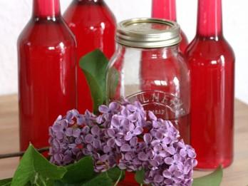 Ceriņu ziedu sīrups