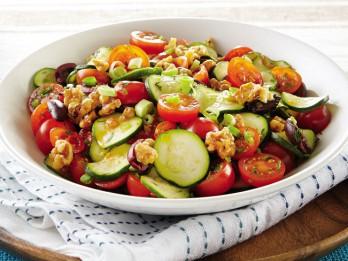 4 dažādi siltie un aukstie kabaču salāti