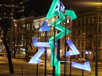 """Vēl var pieteikt darbus vides objektu festivāla """"Ziemassvētku egļu ceļš 2017"""" projektu atlases konkursam"""