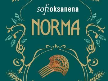 "Jauns Sofi Oksanenas romāns ""Norma"""
