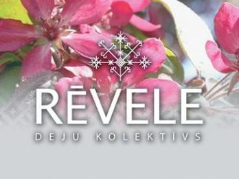 """Notiks deju kolektīva """"Rēvele"""" 25 gadu jubilejas koncerts """"Dejas ceļā raksti top"""""""