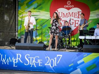 """""""Origo Summer Stage"""" uzstājas """"Saulkrasti Jazz Festival 2017"""" izcilie mākslinieki"""
