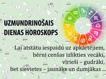 Uzmundrinošie horoskopi 12. janvārim