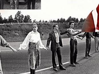 """23. augustā Tautas frontes muzejā tiks demonstrēta Askolda Saulīša dokumentālā filma """"Baltijas brīvības ceļš"""""""