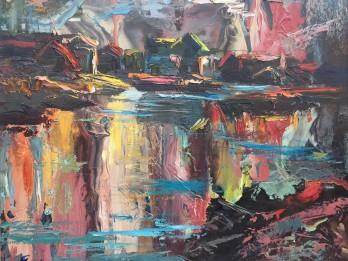 """Galerijā """"Romas dārzs"""" atklās diasporas mākslinieku darbu iztādi"""