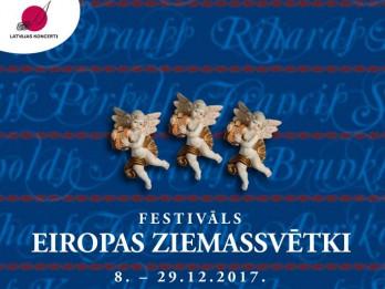 """Festivāls """"Eiropas Ziemassvētki"""" piedāvā daudzveidīgus koncertus"""