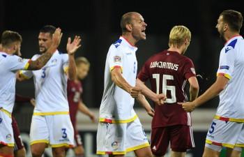 FIFA rangā pirmoreiz divas līderes, Andora apsteidz Latviju