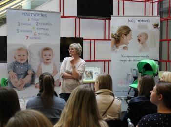 Diānas Zandes lekcijas grūtniecēm un jaunajām māmiņām