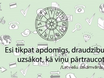 Horoskopi 15. novembrim visām zodiaka zīmēm