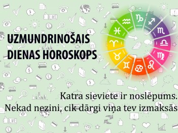 Uzmundrinošie horoskopi 24. janvārim