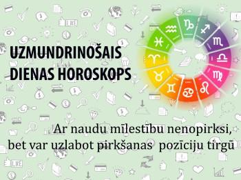 Uzmundrinošie horoskopi 25. janvārim