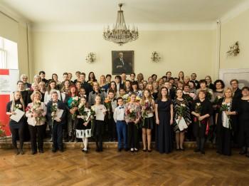 Apbalvoti kultūrizglītības nozares talantīgākie audzēkņi un skolotāji