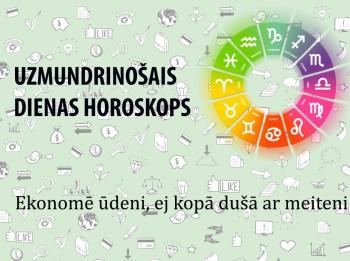 Uzmundrinošie horoskopi 17. janvārim