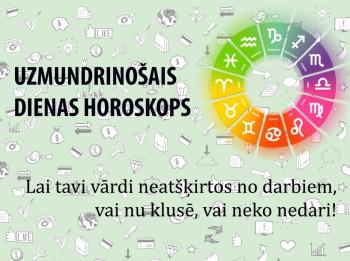 Uzmundrinošie horoskopi 27. janvārim