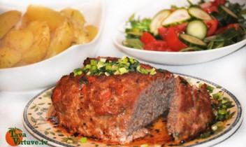 Siltais maltās gaļas klaipiņš