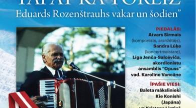 Jūnijā notiks leģendārajam Eduardam Rozenštrauham veltīts koncerts