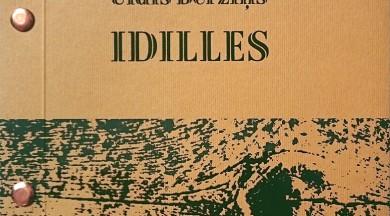 """""""Neputns"""" izdevis Ulža Bērziņa dzejoļu krājumu """"Idilles"""""""