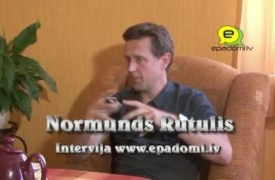 Video: ''Rutuļa jaunības vecums'': intervija ar dziedātāju Normundu Rutuli