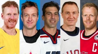 IIHF Slavas zālē uzņems Alfrēdsonu, Bleiku, Lehtinenu un Čeliosu