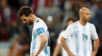 Horvātija sadauza katastrofas tuvumā nonākušo Argentīnu