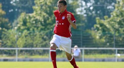 """Talantīgais """"Bayern"""" futbolists Ontužāns vēlas spēlēt Latvijas izlasē"""