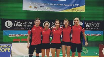 Latvijas badmintonisti smagi zaudē arī otrajā Eiropas komandu čempionāta cīņā