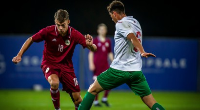 Latviju izglābj pārliktnis, U21 izlase nosargā neizšķirtu pret bulgāriem