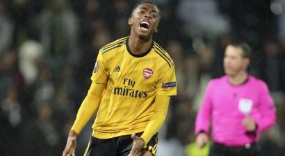 """Ar rezervistiem spēlējošā """"Arsenal"""" galotnē izlaiž uzvaru Portugālē"""