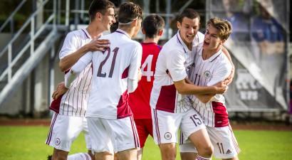 Latvijas U19 izlase Elites kārtā cīnīsies pret angļiem, ukraiņiem un dāņiem