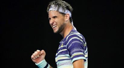 """Tīms labāk spēlē taibreikus un pirmoreiz """"Grand Slam"""" turnīrā uzvar Nadalu"""