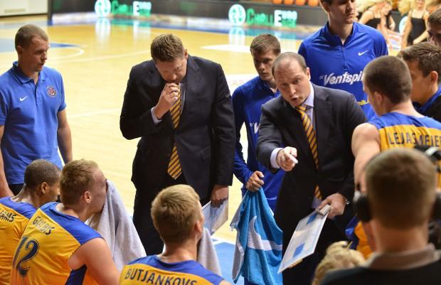 """BK """"Ventspils"""" pārbaudes turnīros pret Kauņas """"Žalgiri"""", """"Neptunas"""" un Ukrainas """"Dnepr"""""""