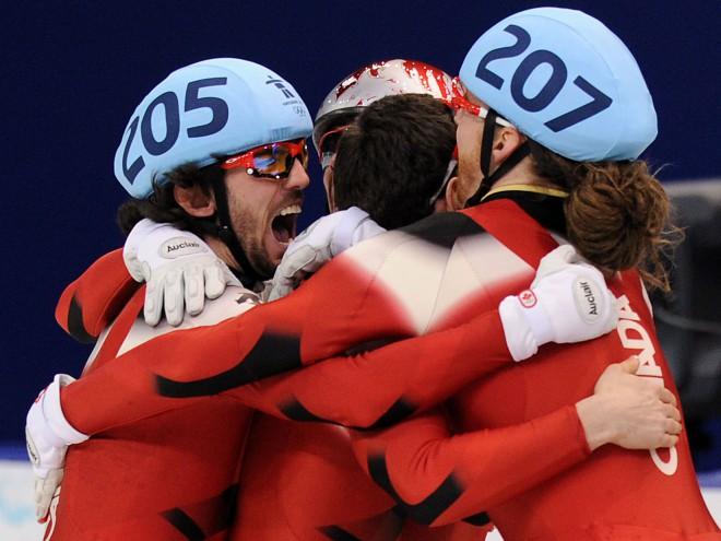 Kanādieši uzvar šorttreka stafetē, valstij 10. zelts
