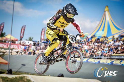 Pētersonei astotā vieta starptautiskajās BMX sacensībās Francijā