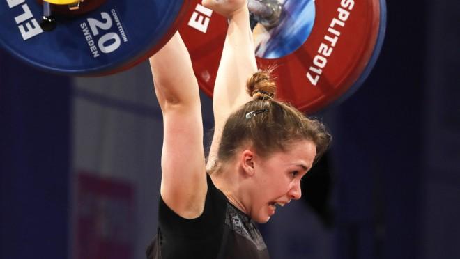 Koha paceļ 222 kilogramus un tiek pie pasaules čempionāta bronzas