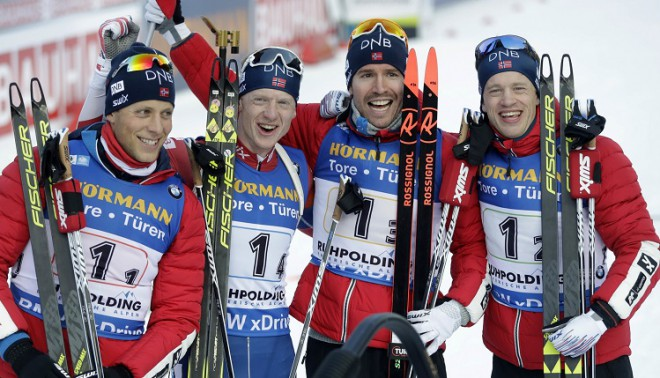 Stafete: M.Furkads parāda klasi, tomēr pārliecinoša uzvara Norvēģijai, Latvija 22.
