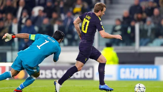 """Bufons pret Keinu: """"Tottenham"""" Vemblija stadionā uzņems """"Juventus"""""""