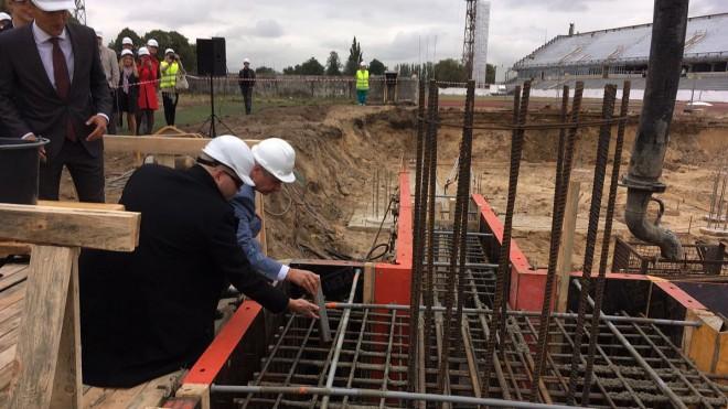 Nākamo gadu Daugavas stadiona prioritāte būs hokeja un vieglatlētikas haļļu būve