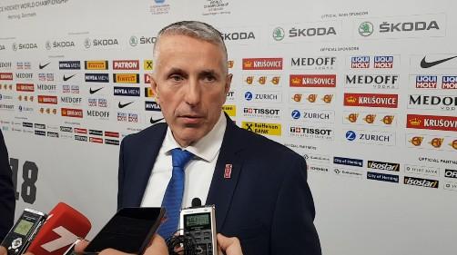 """Hārtlijs: """"Omskā būs vieglāk sekot līdzi Latvijas spēlētājiem"""""""