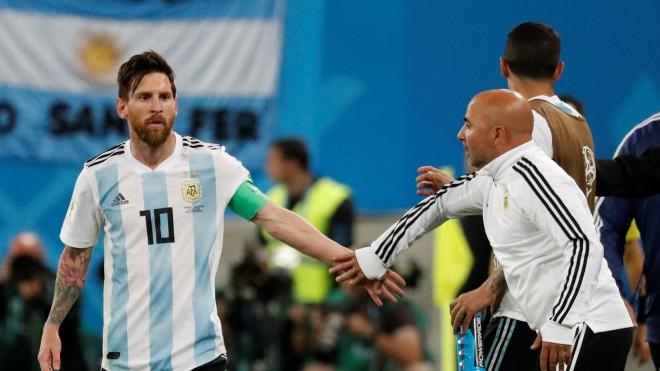"""Sampaoli: """"Nē, Mesi neizvēlas Argentīnas taktiku vai sastāvu"""""""