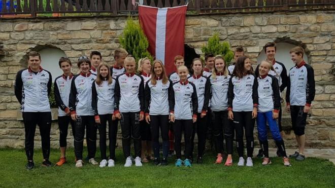 Latvijas orientieristēm trīs vietas desmitniekā Eiropas jauniešu čempionātā