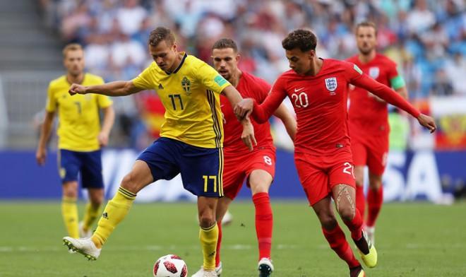 Teksta tiešraide: Zviedrija - Anglija 0:2 (spēle beigusies)