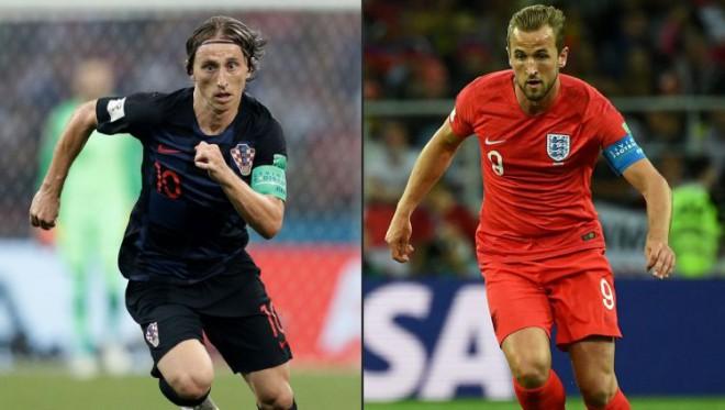 Horvātija pret Angliju, Modričs pret Keinu – kurš finālā izaicinās Franciju?